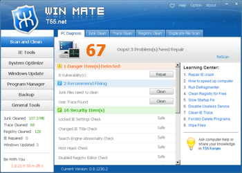 WinMate screenshot 2