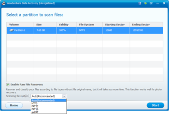 Wondershare Data Recovery screenshot 4
