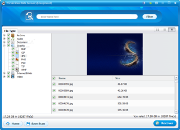 Wondershare Data Recovery screenshot 6