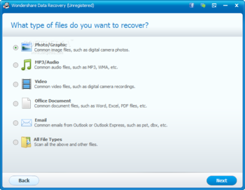 Wondershare Data Recovery screenshot 7