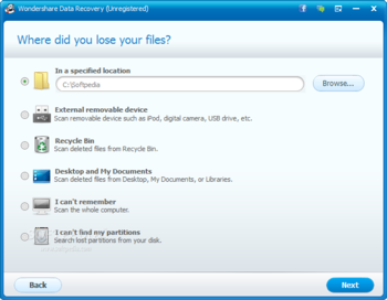 Wondershare Data Recovery screenshot 8