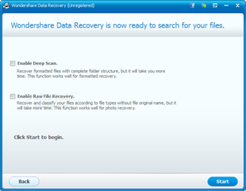 Wondershare Data Recovery screenshot 9