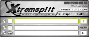 Xtremsplit screenshot