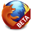 Mozilla Firefox beta icon