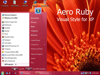 Aero Ruby screenshot