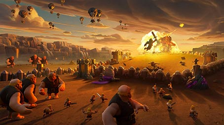 Clash of Clans Theme for Windows 7 | 454 x 255 jpeg 27kB