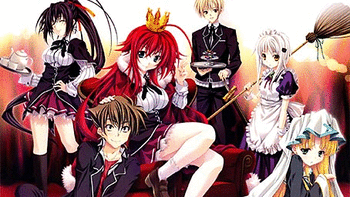 High School DxD screenshot