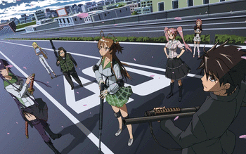 Highschool of the Dead screenshot 9