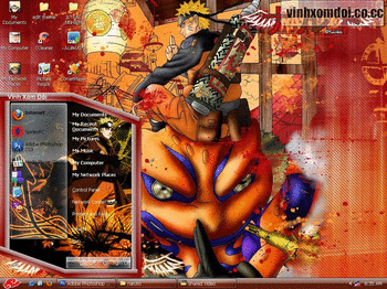 Naruto Theme For XP screenshot