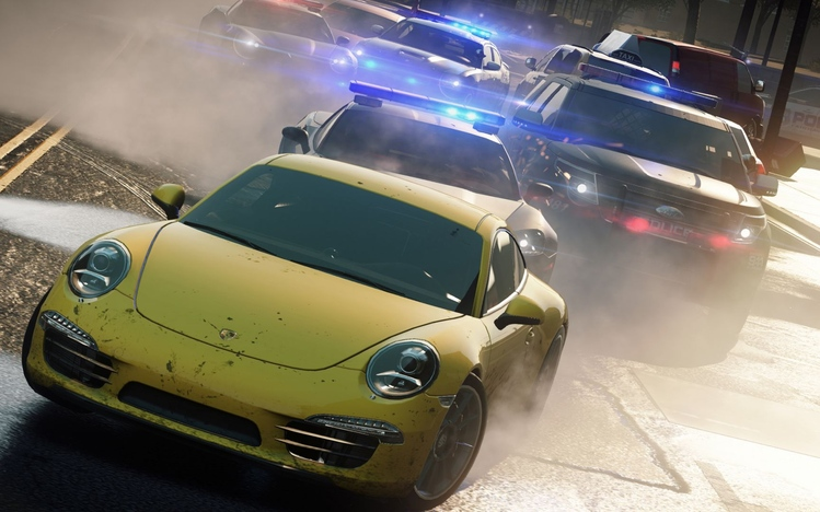Need For Speed Most Wanted Theme For Windows 7