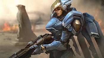 Pharah Overwatch screenshot