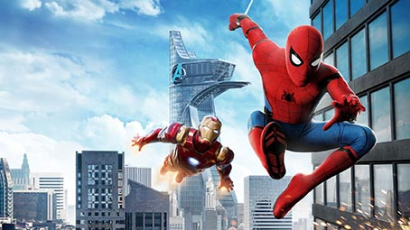 Spider-Man: Homecoming Theme for Windows 7