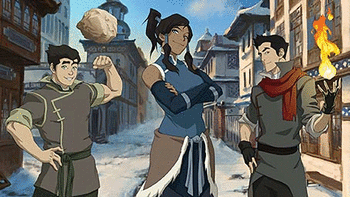 The Legend of Korra screenshot