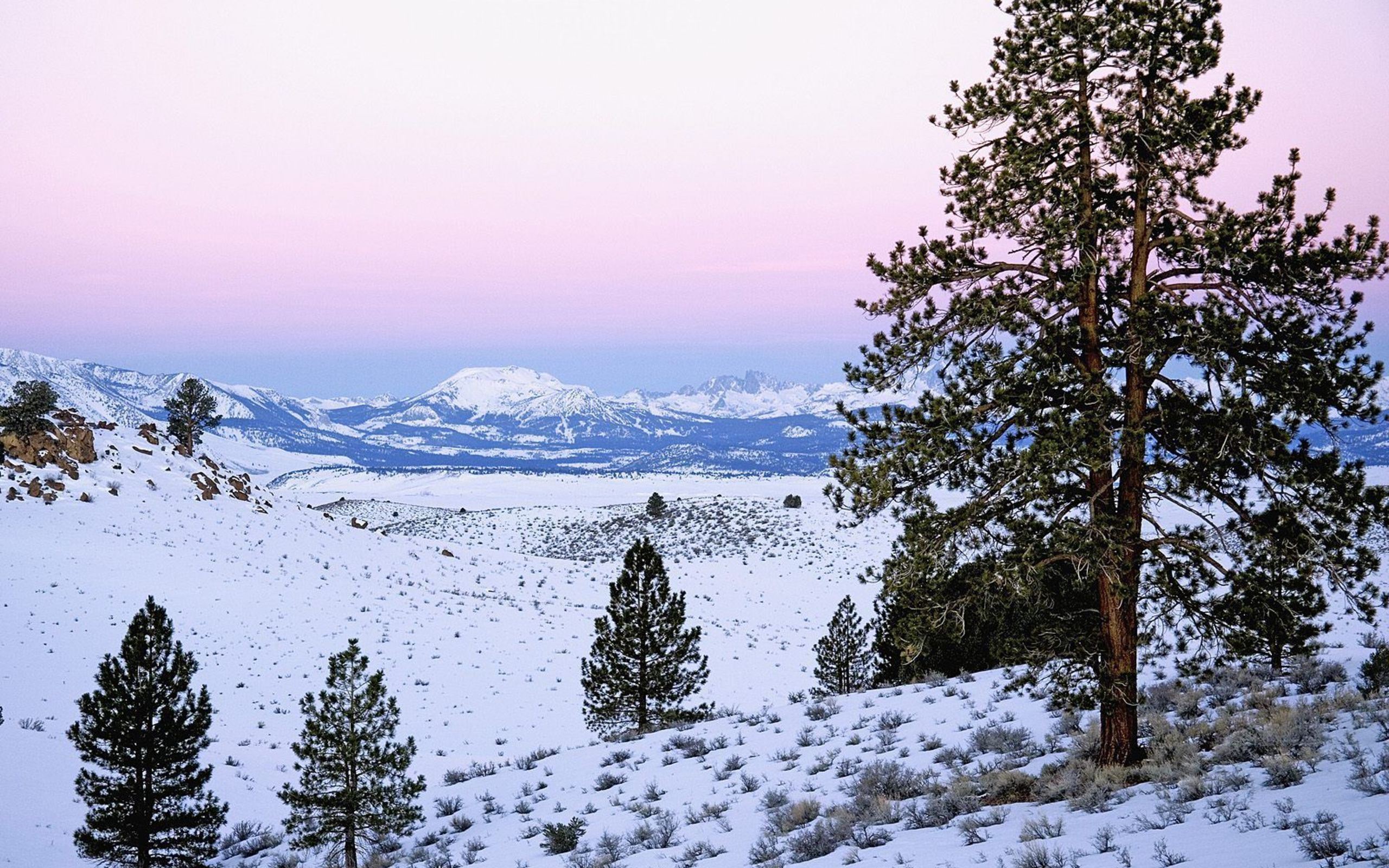 Mammoth Mountain And The Minarets Sierra Nevada California