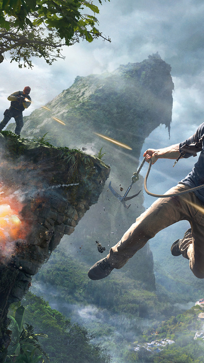 Uncharted 4 A Thiefs End 4k 8k Hd Wallpaper Free Wallpapers