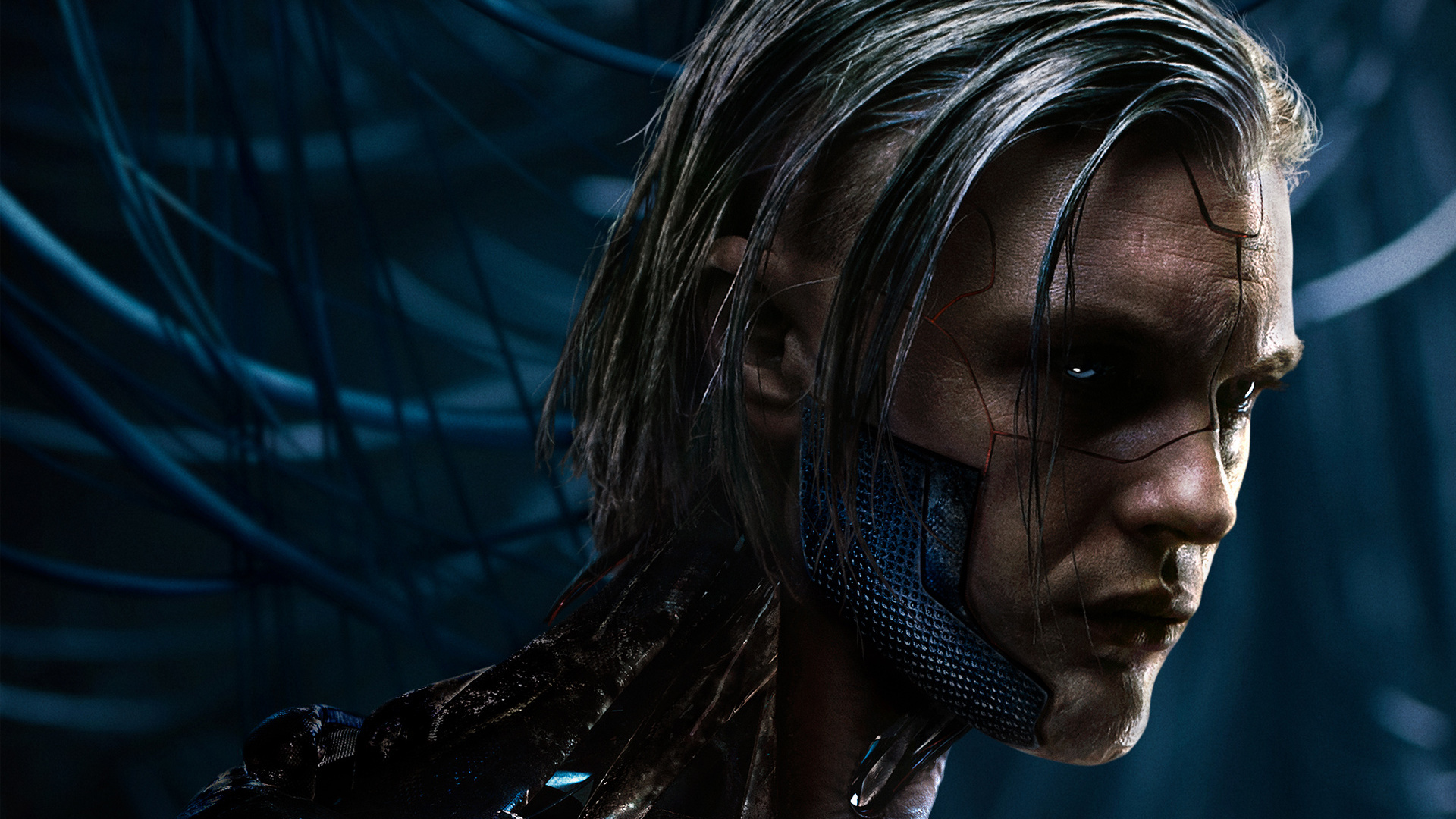 Hideo Kuze Michael Pitt Ghost In The Shell Wallpaper Free Wallpapers
