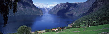 Aurlandsfjord Norway screenshot