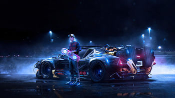 Back to the Future Concept screenshot