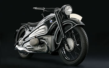 Classic 1937 BMW R7 screenshot