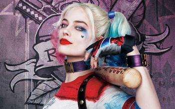 Harley Quinn Margot Robbie Suicide Squad 4k 8k Wallpaper
