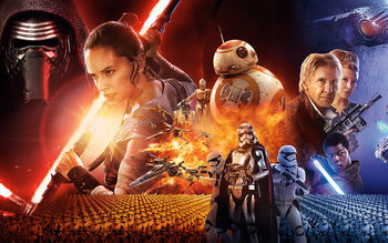 JJ Abrams Star Wars The Force Awakens wallpaper preview