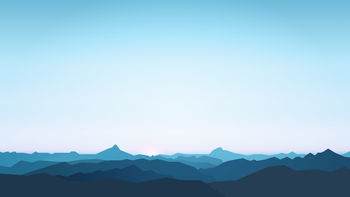 Mountains Minimal 5K screenshot