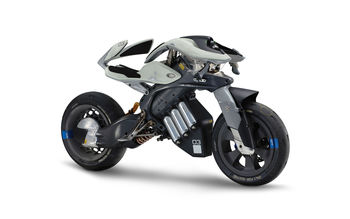 Yamaha Futuristic Motoroid Concept wallpaper preview